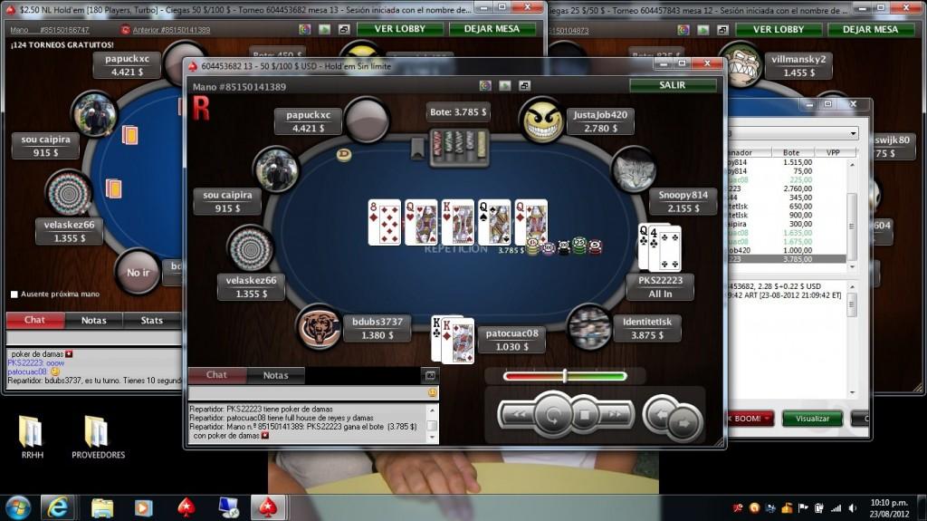 Poker - bad beat - cuando la suerte no acompaña