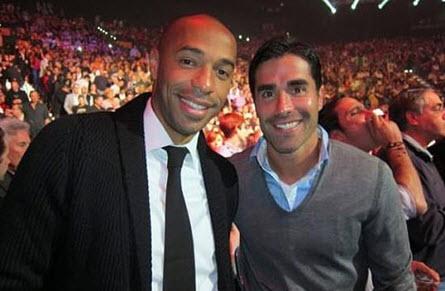 El LAPT recibe una visita muy de Juan Pablo Ángel y Thierry Henry