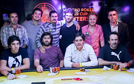 Madero Poker Master Cup Hunters: Pablo Chacra se quedó con la segunda fecha
