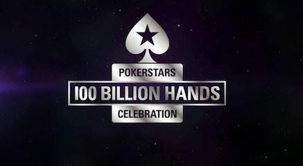 PokerStars celebra la mano 100 mil millones con un torneo récord del mundo de U$S 300.000