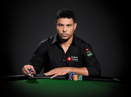Backstage del comercial de Ronaldo para PokerStars