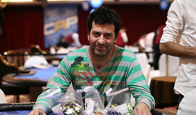 Fernando Romano es el líder del CAP Entre Ríos Día 2 | Hablando de poker