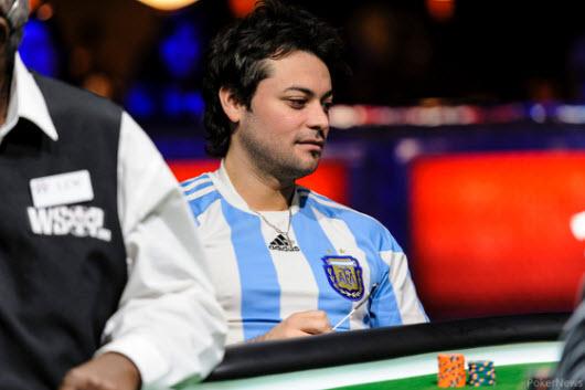 WSOP 2013: Matías Ruzzi casi cumple la hazaña   Hablando de Poker