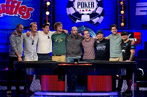 WSOP 2013: Así quedó la November Nine   Hablando de Poker