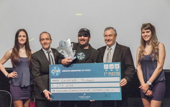 CAP 2013: Rubén Gannam se quedó con el primer lugar en Neuquén | Hablando de Poker