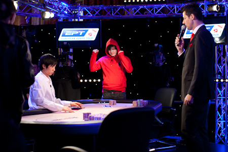 Jake Cody Comemora EPT Deauville FT