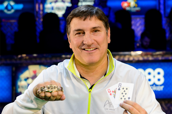 El esperado Evento 10 WSOP NL Hold'em Heads UP U$S10.000 fue para Keith Lehr